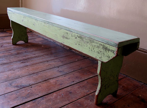 Wooden Bench For In The Bathroom Vintage Kitchen Decor Wooden Porch White Painted Furniture