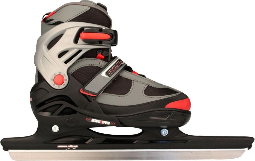 336f3545c95 Verstelbare kinderschaats - Zwart - Semi-soft combinoor - 38-41 - Nijdam