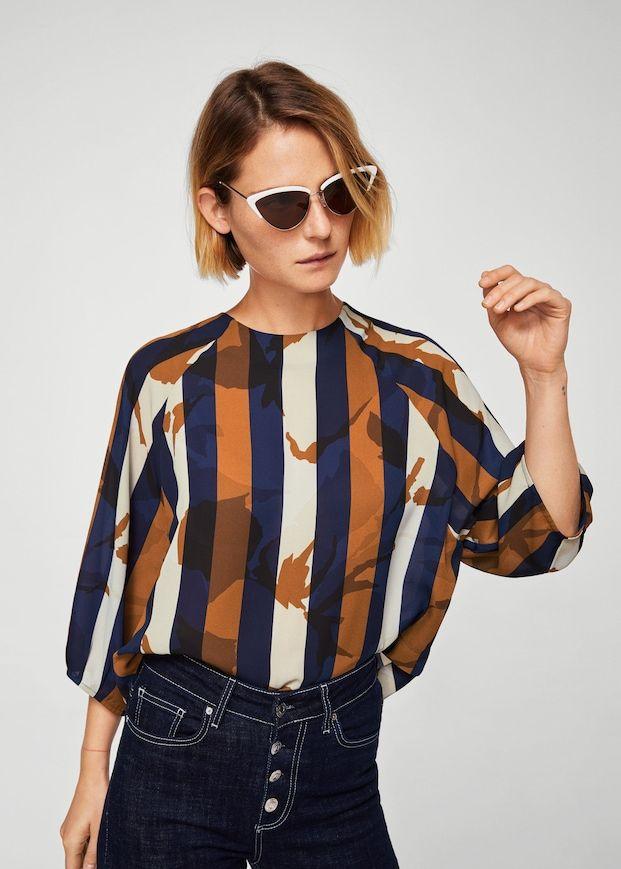 dba517b1b9d8 Chemises pour Femme 2018   MANGO France   Vêtements en 2019   Pinterest