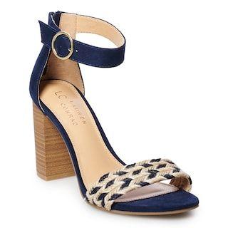Lauren Conrad // Pie Crust Braided High Heels   Heels