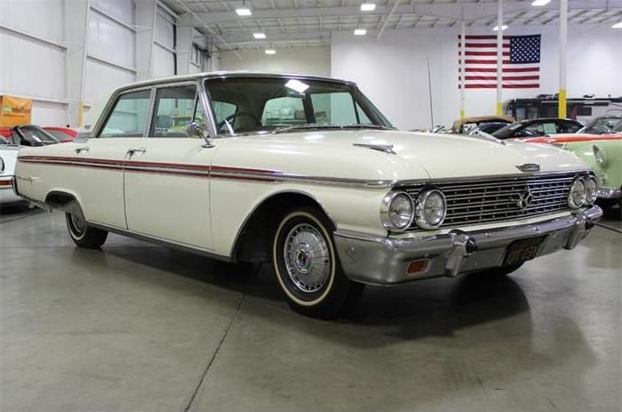 1962 Ford Galaxy 500 490 Engine Maintenance Restoration Of Old Vintage Vehicles The Material For New Cogs Casters Gears Pad Old Fords Ford Motor Vintage Cars