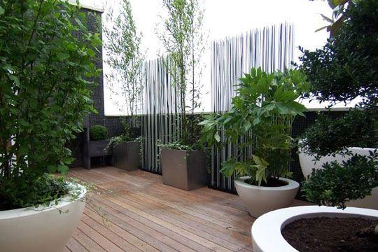 Am Nagement De Terrasse Urbaine Brise Vue Design