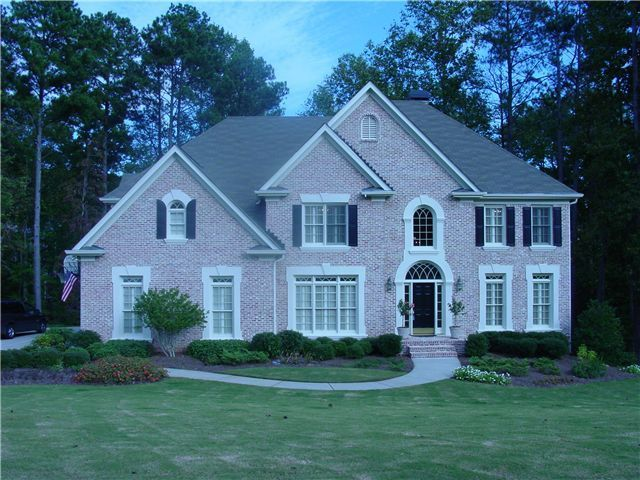 Trim Color For Pink Brick House Home House Paint