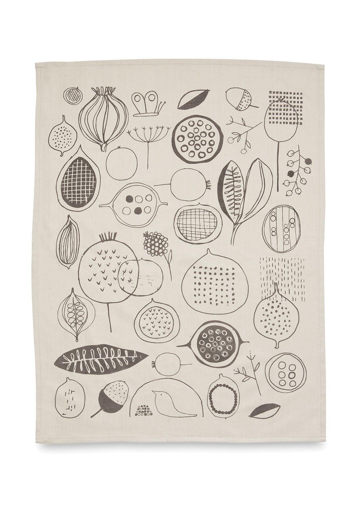 Citta Seedpod Tea Towel