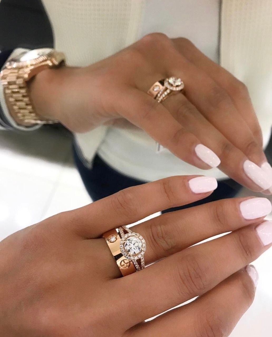 Glam Spam — 💧 Cartier love ring, Cartier wedding rings