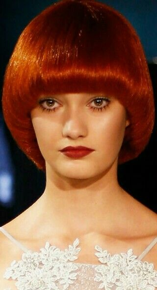 Mushroom Hairstyles Mushroom Hair Hair Styles Short Hair With Bangs