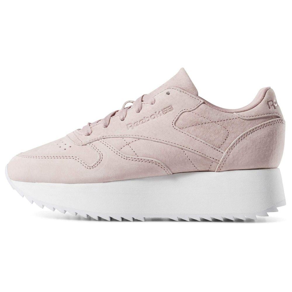 Reebok Classic Sneaker Double Damen Altrosa Grosse Reebok Sneaker Altrosa