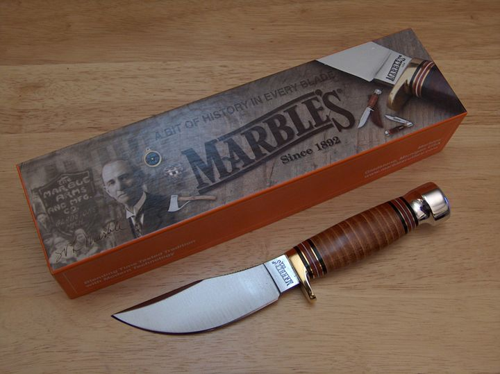 Modern Woodcraft With Its Packaging Knife Wood Crafts Marble
