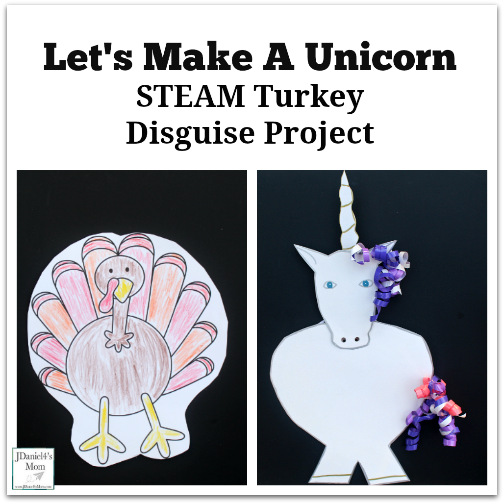 Let S Make A Unicorn Steam Turkey Disguise Project
