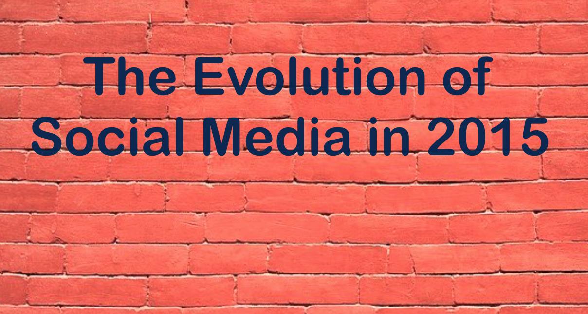 Highlights of the 2015 social media news