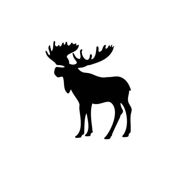 Moose Silhouette Png