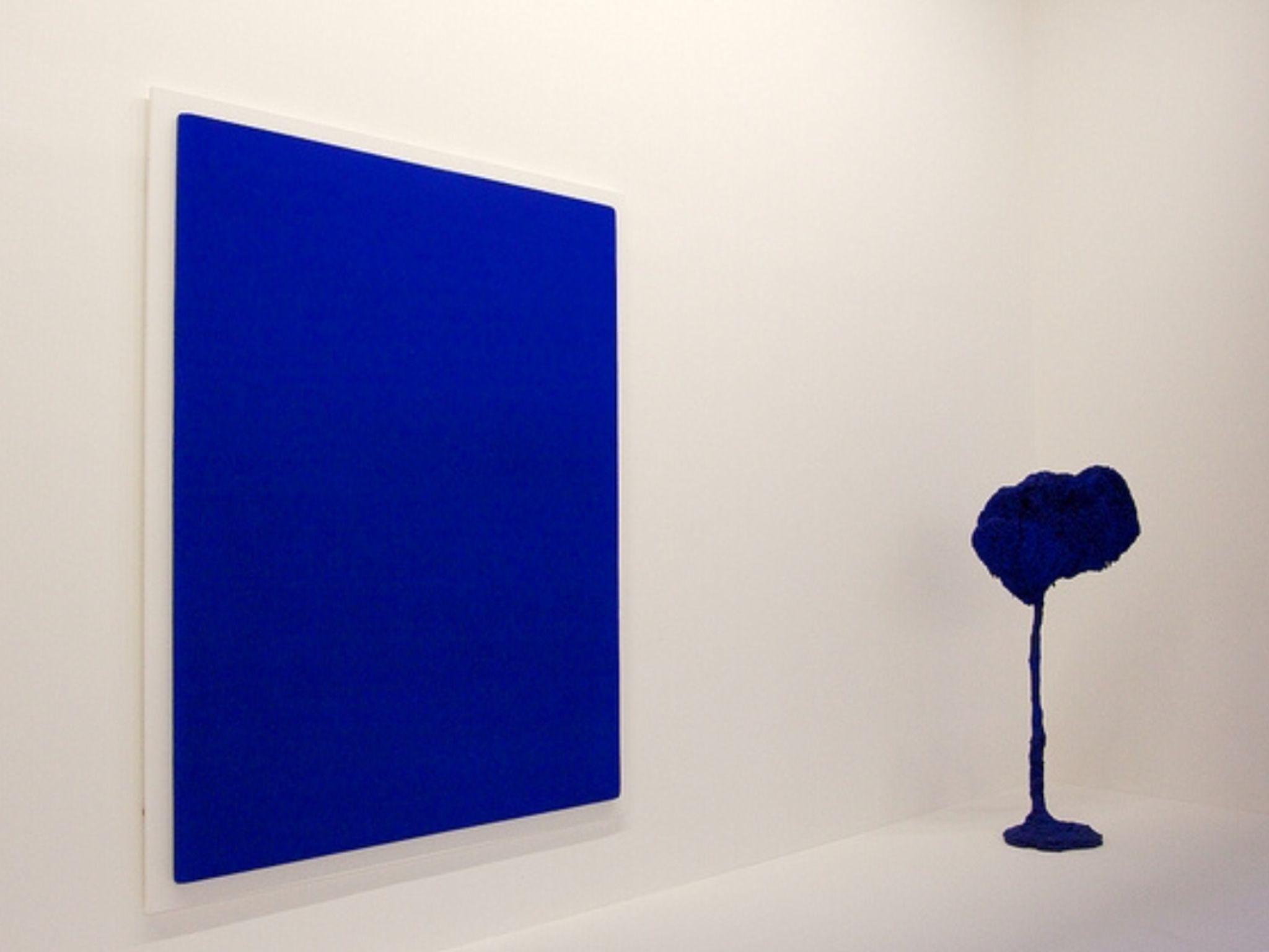 Bleu Klein Centre Georges Pompidou Paris Art Whiteread