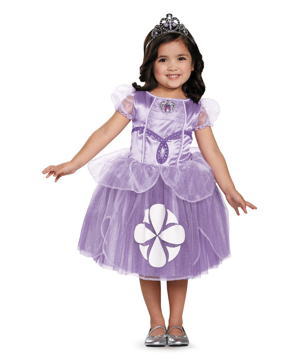 Sofia Dress Up Set Toddler Kids Disney Princess Fancy Dress Fancy Dress Up Halloween Fancy Dress