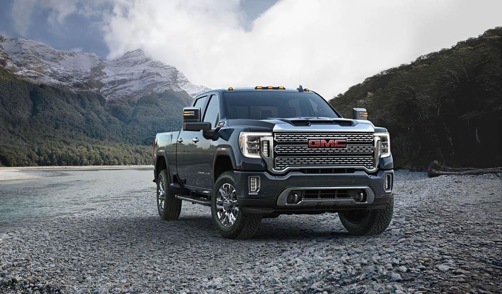 Gmc 2020 Sierra Hd Preview Photos Towing Specs Release Date Gmc Sierra Gmc Denali Gmc 2500