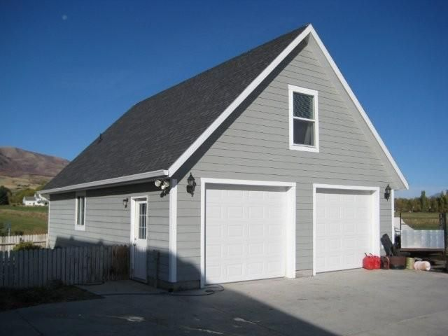 Pole barn garage purchase all 10 pole barn style garages for Pole building garage plans