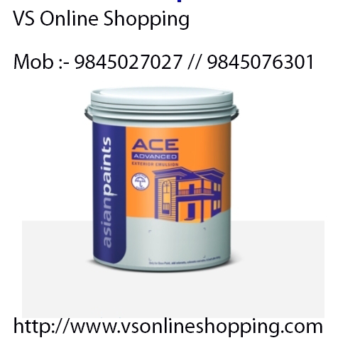 Asian Paints Ace Advanced Exterior Emulsion Is A Water Based Exterior Wall Finish With Silicon Additives And Improved An Asian Paints Wall Finishes Free Quotes