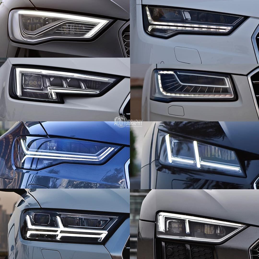 Audi Headlights Audi Cars Audi 2017 Car Lights