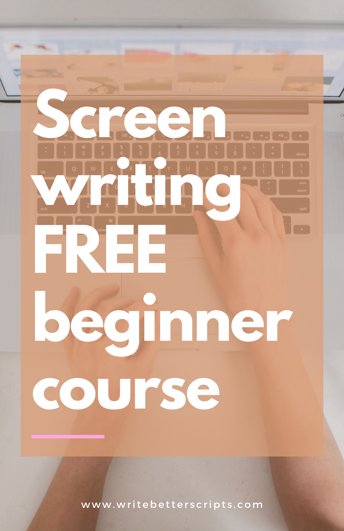 In This Free Mini Course You Ll Learn How To Write A Tv