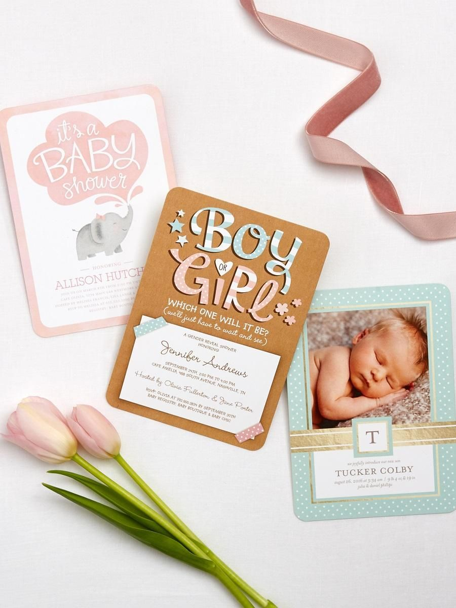 Boy? Girl? Find the perfect birth announcement you'll love for your little  one. | Shutterfly