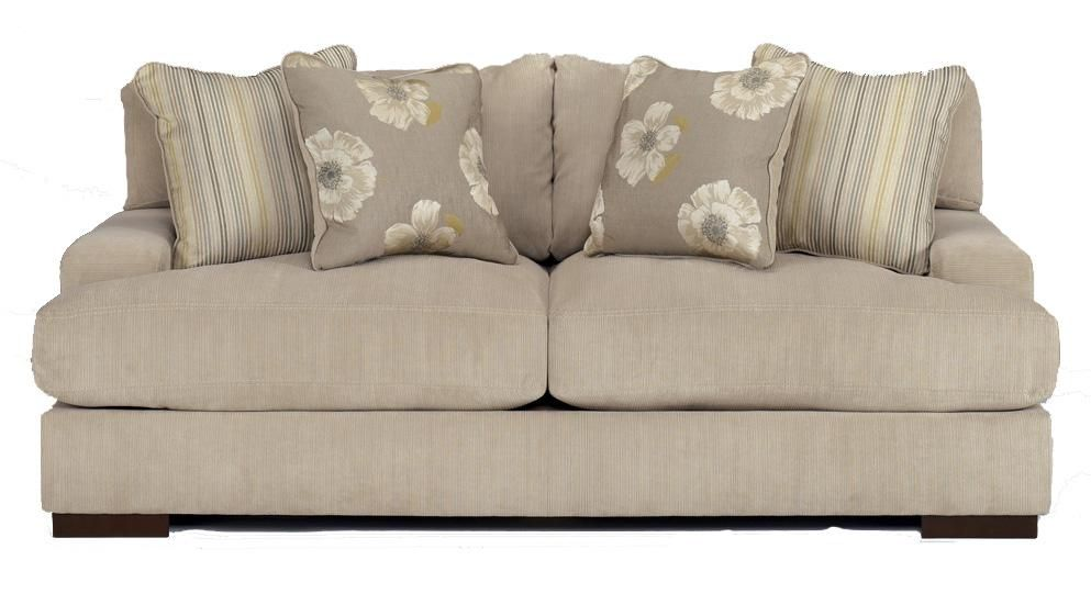 Pia Linen Lawson Style Loose Backed Sofa by Signature Design by