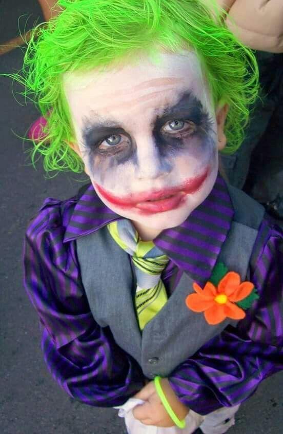 disfraz de halloween joker