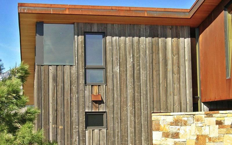 Engineered Wood Siding Vertical Wood Siding Vertical Board On Board Pool House With Reclaimed