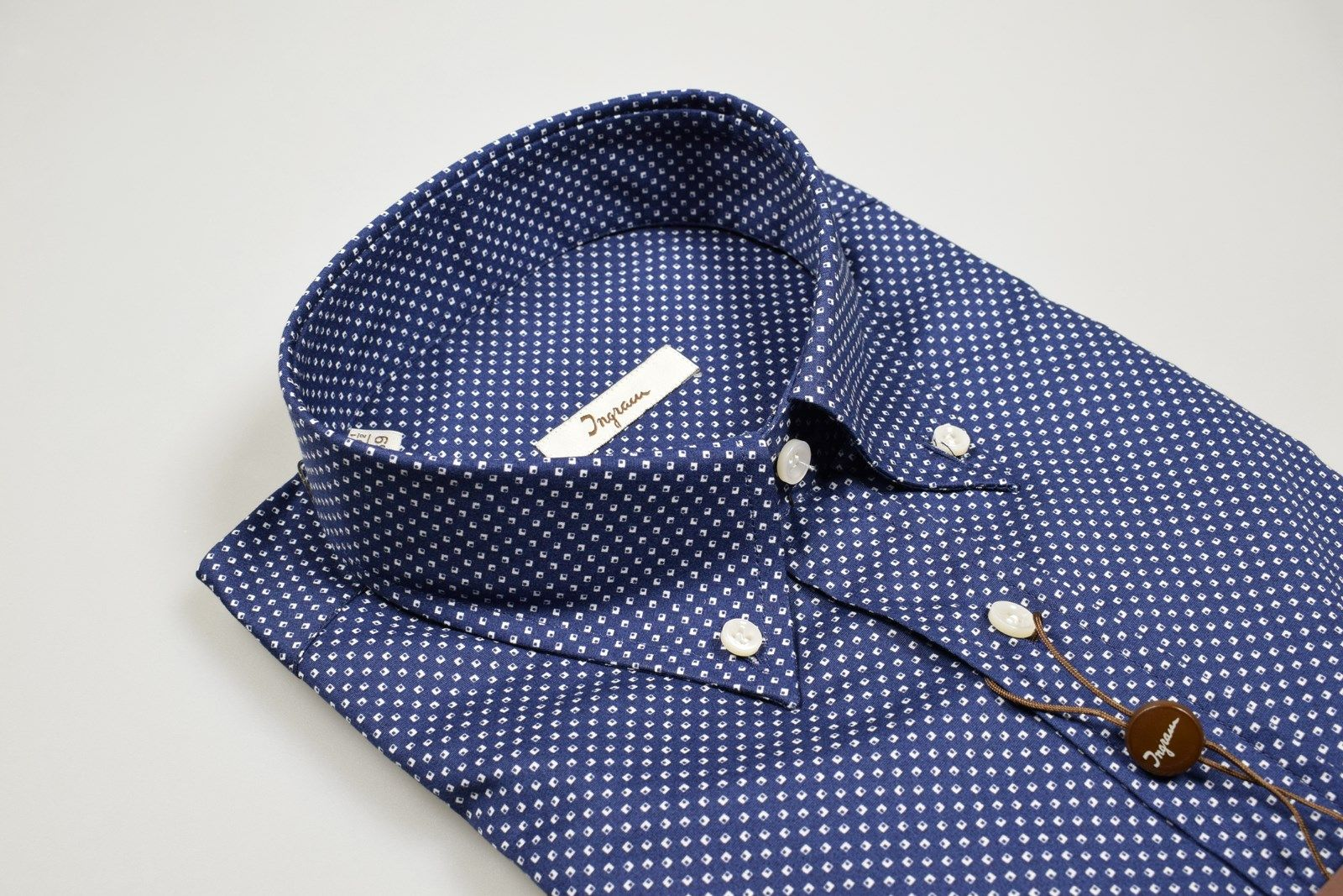 Ralph LAUREN BLUE STRIPE 100/% Cotone Stretch Camicia