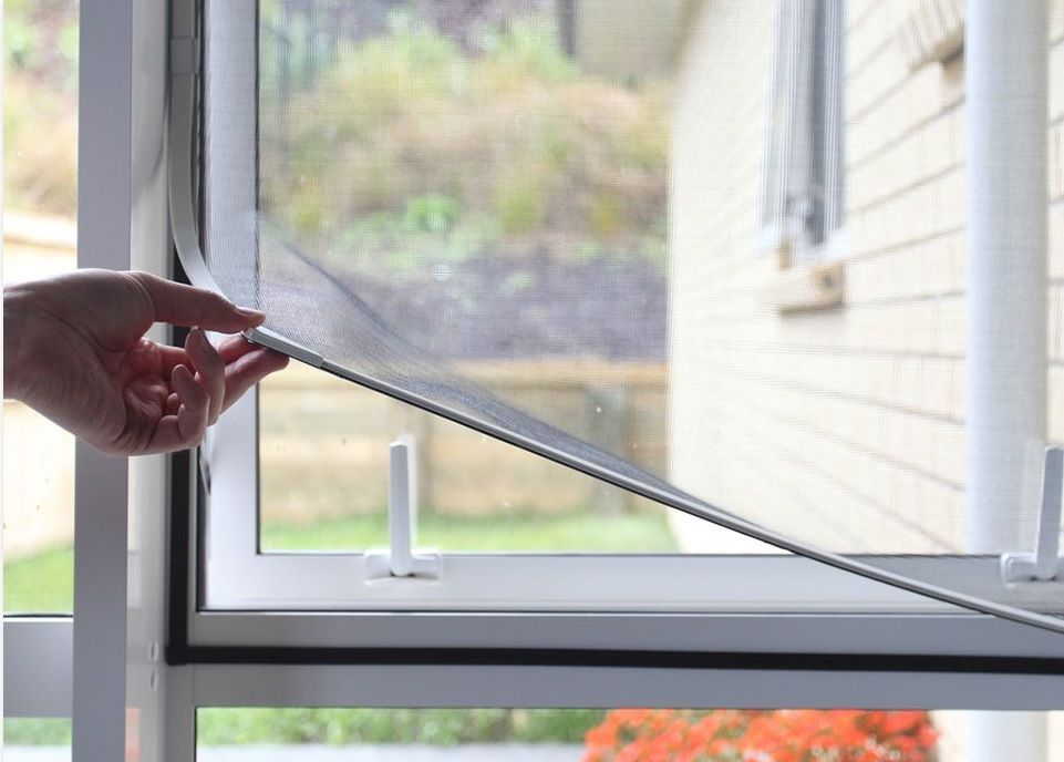 Easy To Install Magnetic Window Screen