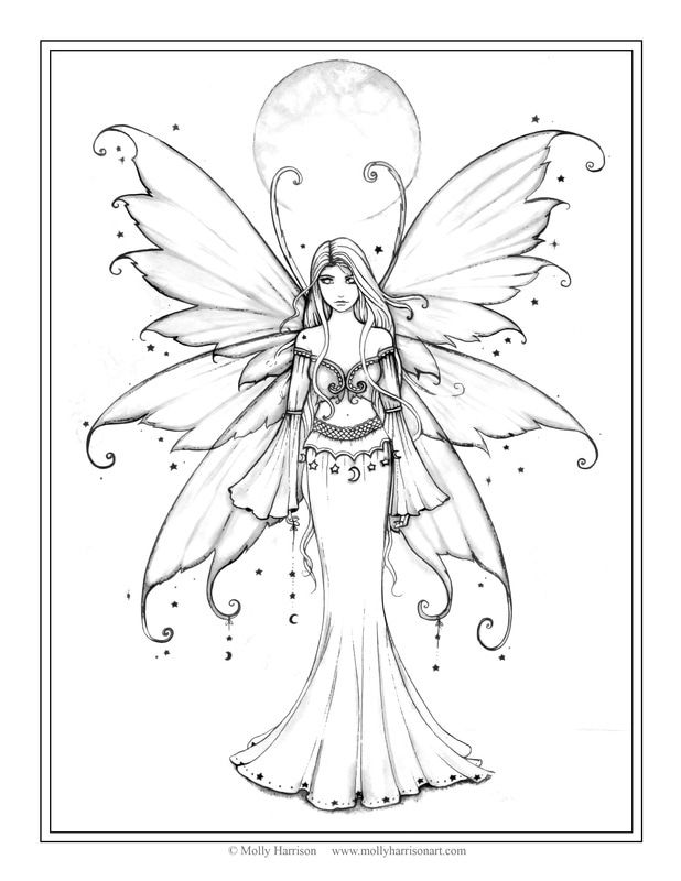 Picture Fairy Coloring Pages Fairy Coloring Fairy Coloring Book