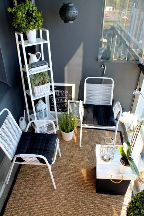 30 kleine gemütliche Balkon-Garten-Ideen, die Sie schauen sollten #apartmentbalconygarden