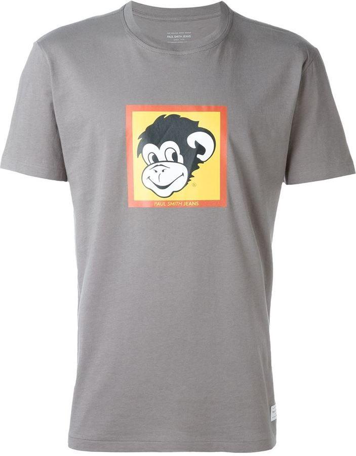 paul smith monkey halo t shirt