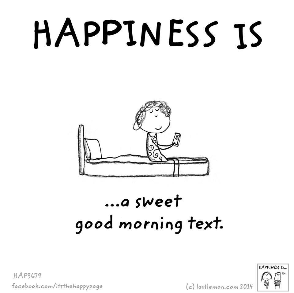 Good Quotes About Happiness Happiness Is A Sweet Good Morning Text  Quotes And Poetry