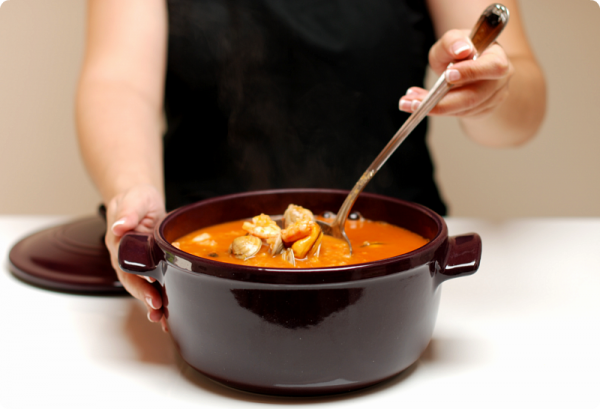 Sopa De Pescado Deliciosa Y Paso A Paso Con Thermomix Receta Sopa De Pescado Sopa De Mariscos Recetas De Cocina