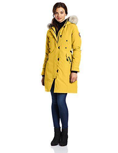 795807e9645c CANADA GOOSE Canada Goose Women S Kensington Parka Coat.  canadagoose   cloth