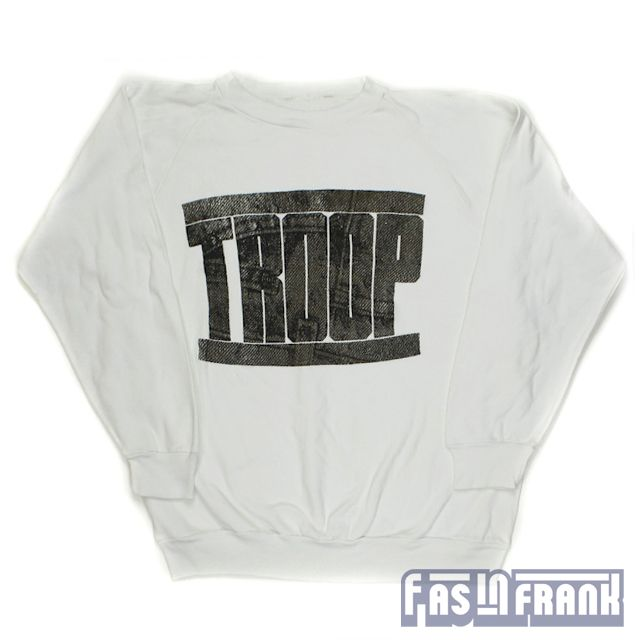 Troop Crewneck Sweatshirt Sz M