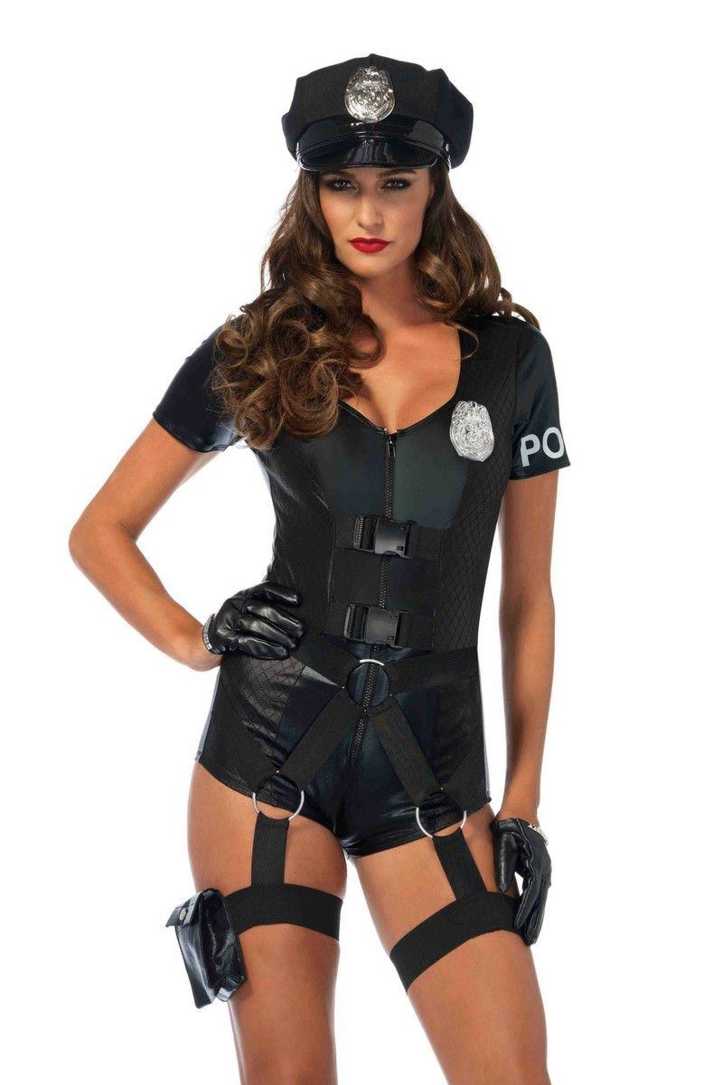 e13d4b93b999 Flirty Five-O - Sexy cop costume by Leg Avenue - 3 PC. Flirty Five-0 ...