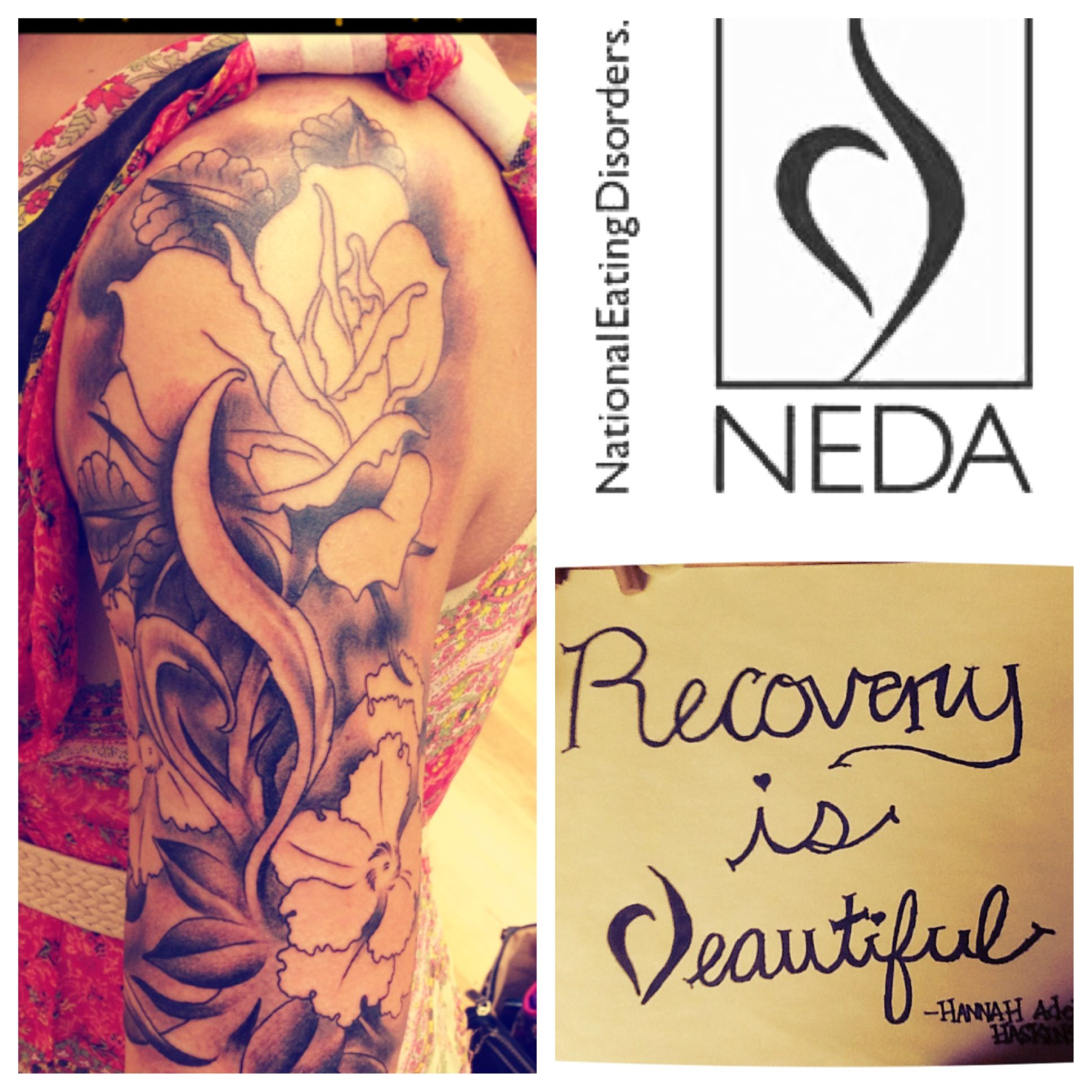 Eating disorder recovery tattoo halfsleeve neda tattoo tattoos eating disorder recovery tattoo halfsleeve neda tattoo biocorpaavc Image collections