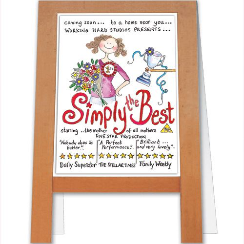 simply the best a126  mothers day cards cards paper