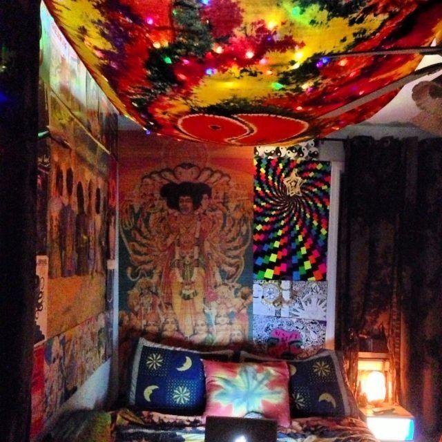 Hippie Bedroom decor | Room | Pinterest | Ideas para dormitorios ...