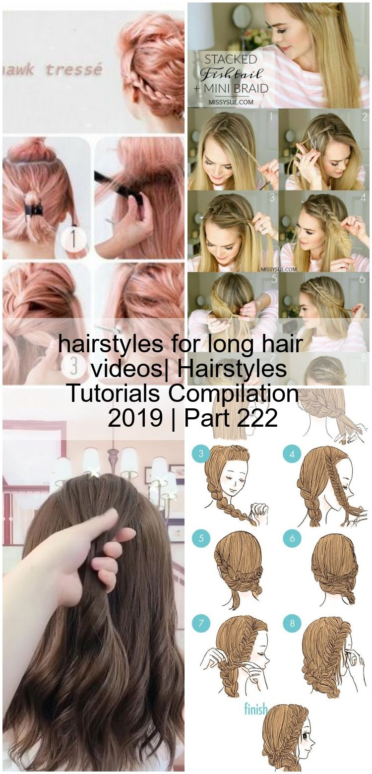 hairstyles for long hair videos| Hairstyles Tutorials Compilation 2019 | Part 222,  hairstyles for long hair videos| Hairstyles Tutorials Compilation 2019 | Part 222,