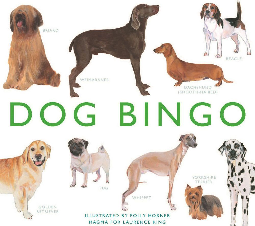 Dog Bingo Pinned By Www Thedapple Com Design Dog Lover Gifts