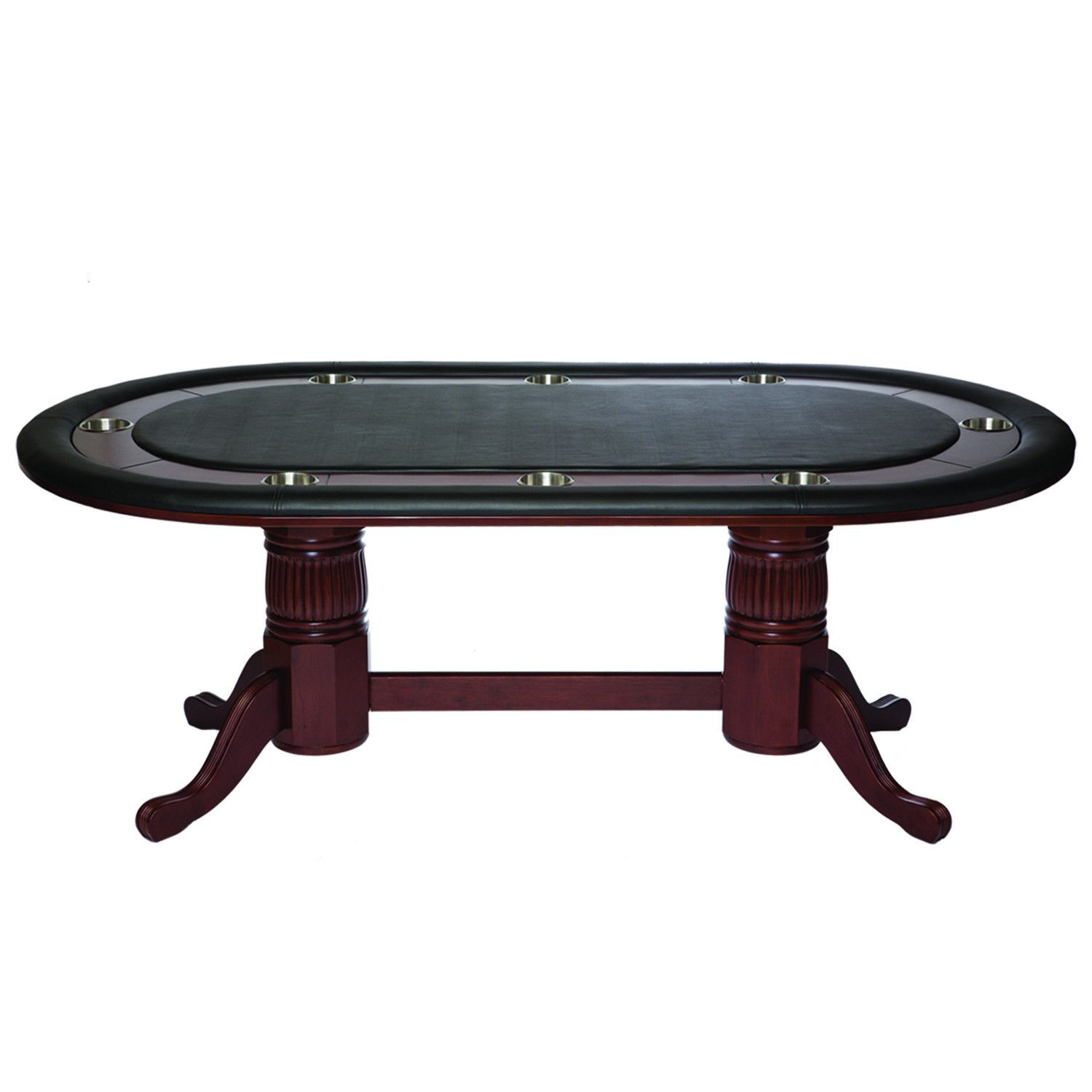 Ram Gameroom 84 Texas Hold Em Game Table With Dining Top In English Tudor Table Games Game Room Poker Table