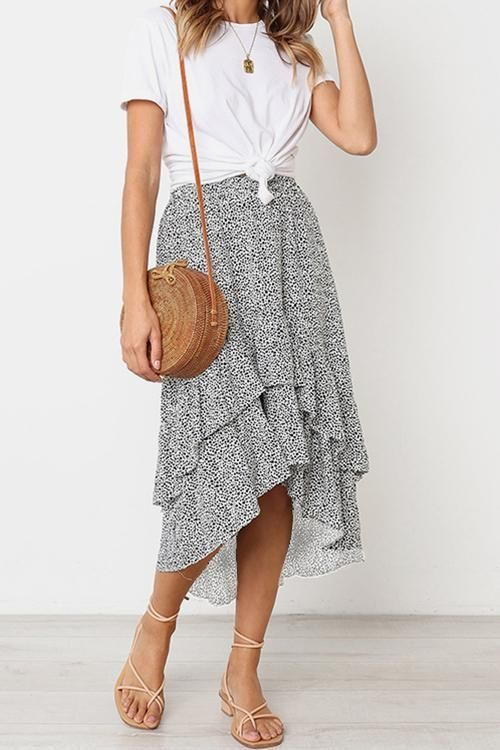 Be in Love Ruffle Skirt - #boheme #love #Ruffle #Skirt #businesscasualoutfitsforwomensummer