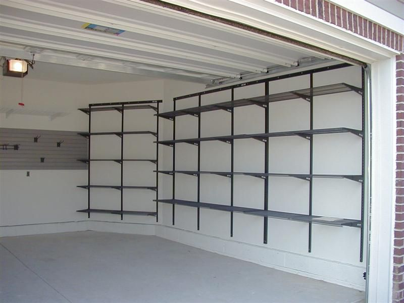 Beautiful Garage Shelving System Garage Shelving Plans Home