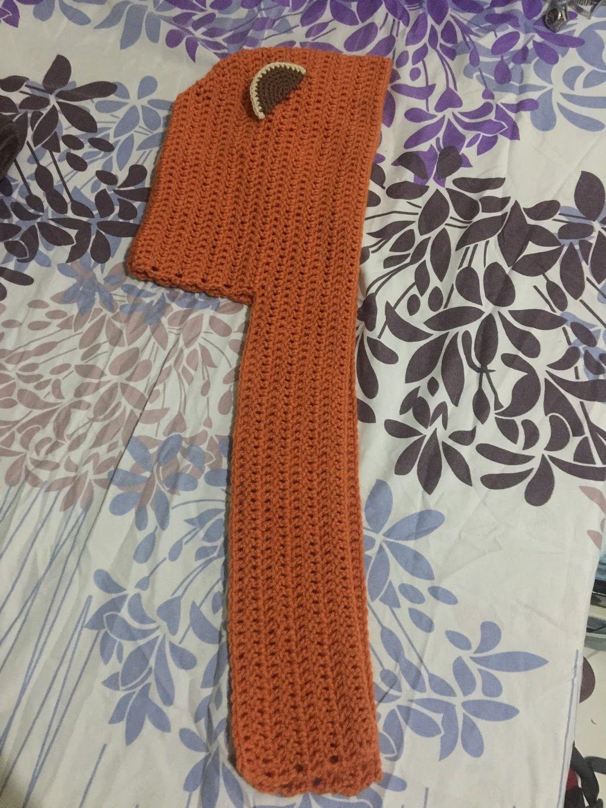 Crochet AF!: Ewok Scoodie Pattern Free | Crochet scoodie ...