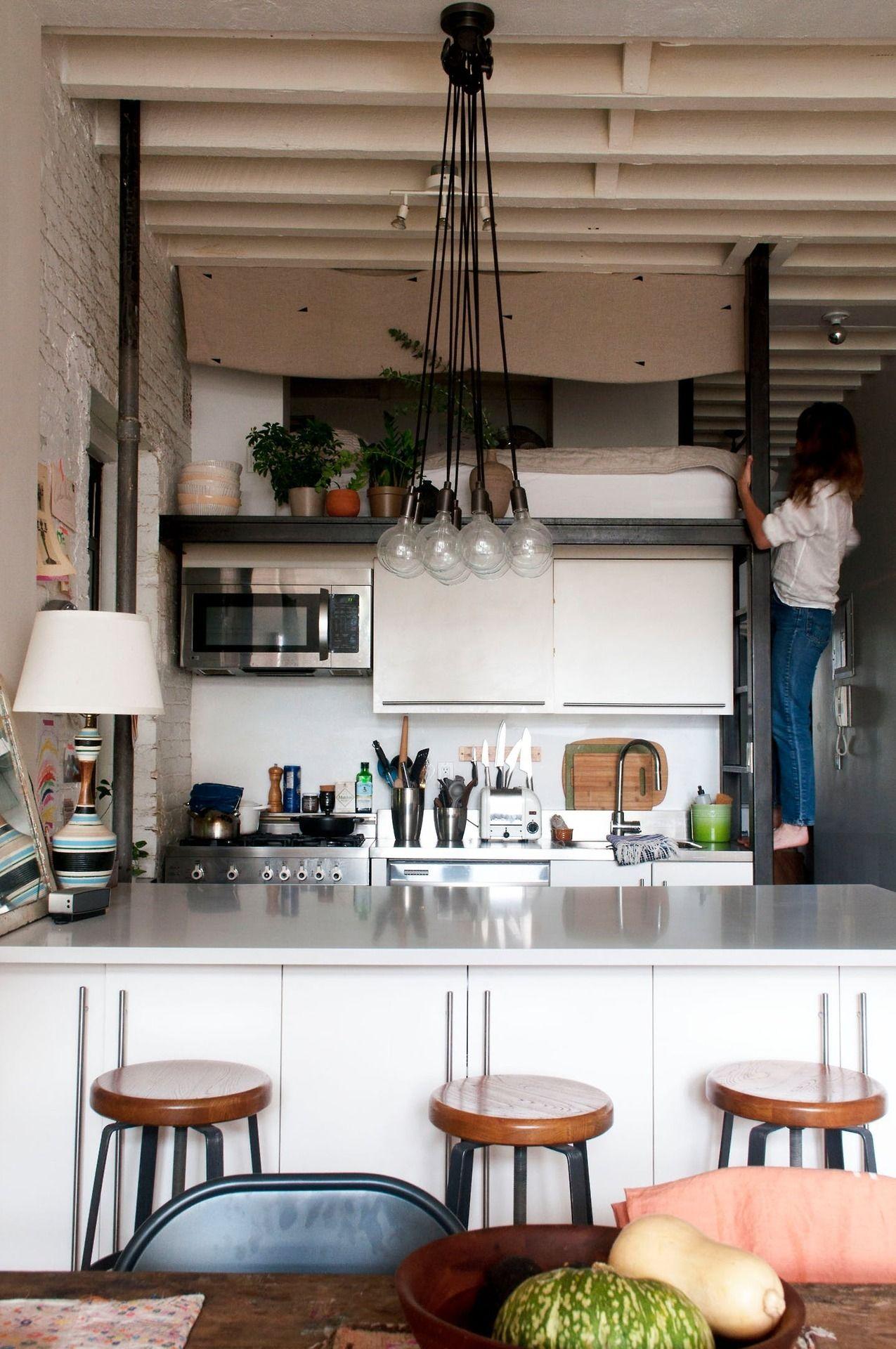 A dreamy bohemian Brooklyn studio apartment | Interior | Pinterest