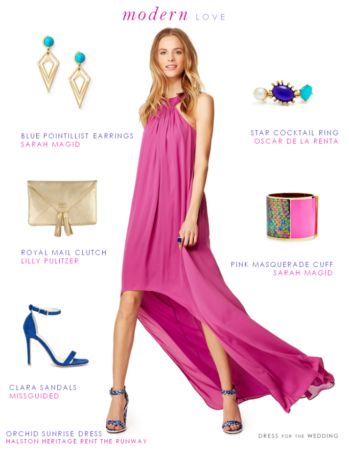 What to Wear to a Modern Wedding | Dress ideas, Wedding guest attire ...
