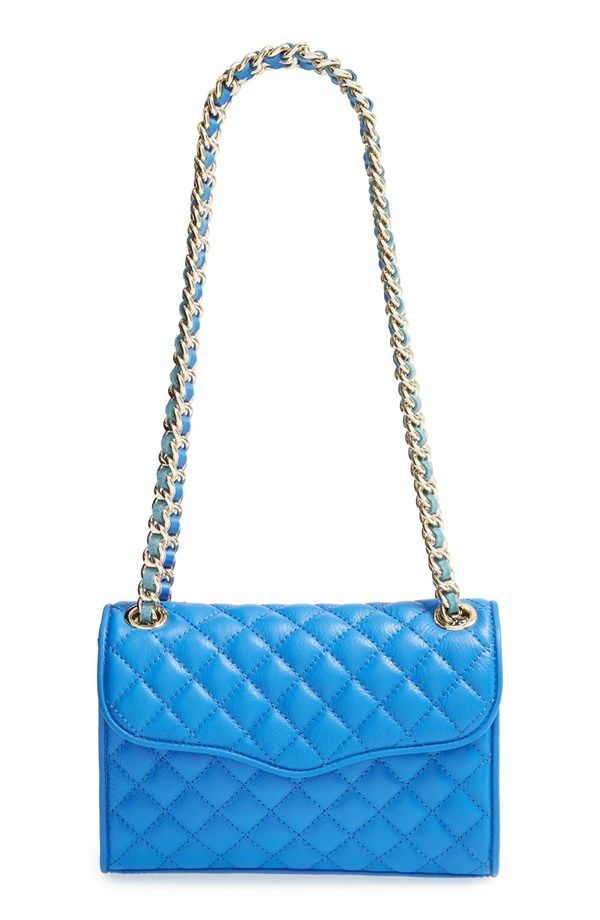 Quilted and bright blue, yes please!