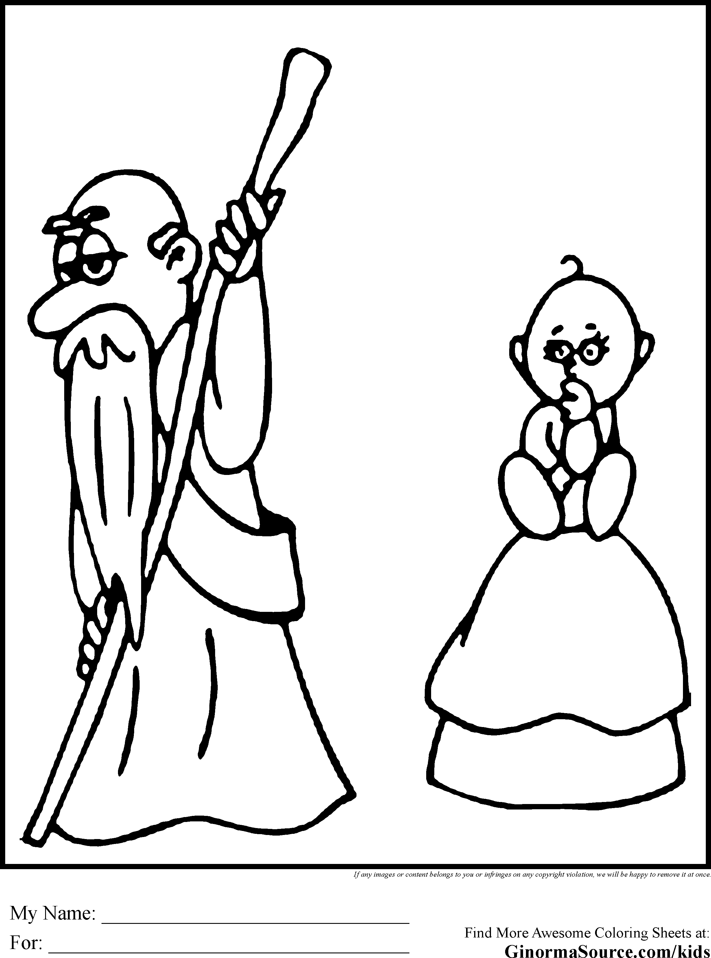 New-Years-Eve-Coloring-Pages-Baby-Old-Man.gif (2459×3310)   Felt New ...