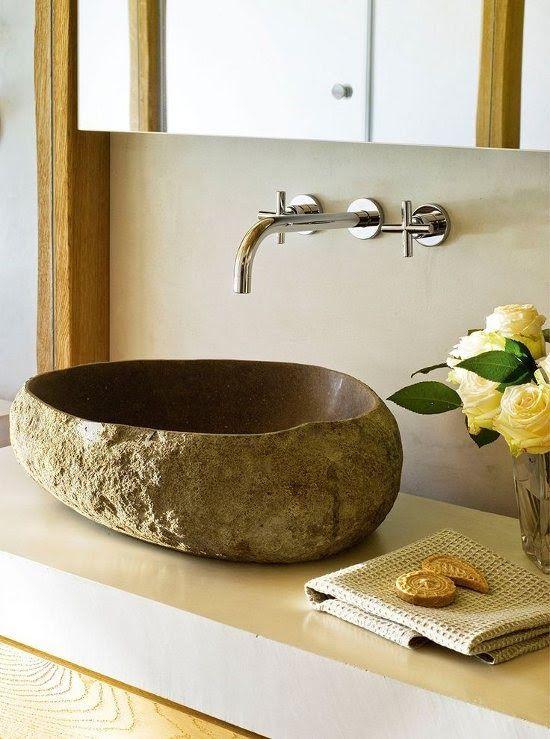 Dustjacket Attic Interiors Zen Bathroom Zen Bathroom Stone Sink Bathroom Design